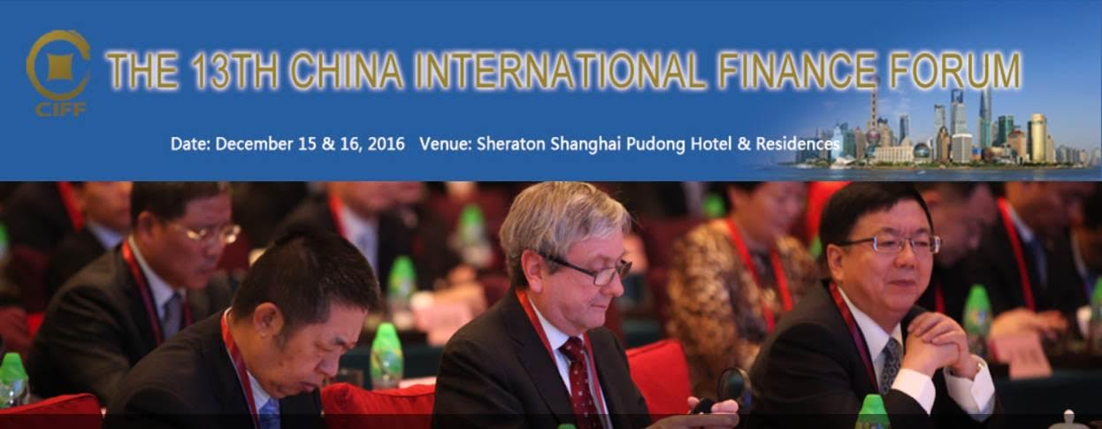 the13chinainternacionalfinanceforum